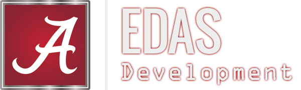 University of Alabama, E.D.A.S. Development